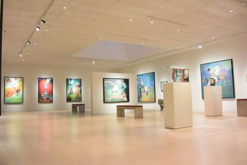 Arne Haugen Sørnsen Museum - Lysdesign -Vestjyllands kunstpavillon