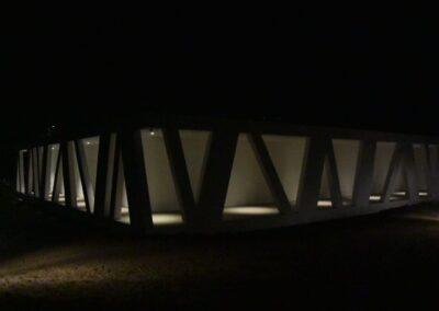 Udendørs belysning - Vestjylands Kunstpavillon