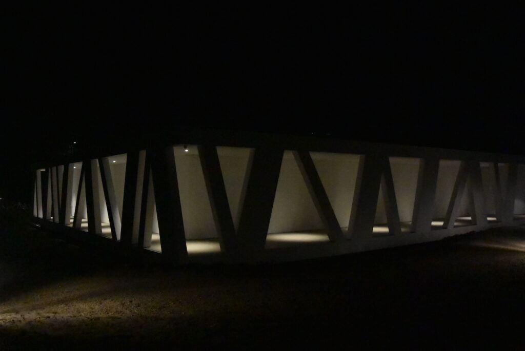 Udendørs belysning - Videbæk Kunstpavillon