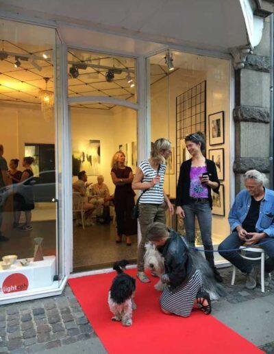 Fernisering 23 August - udstillingen kan ses frem til 26 Oktober.