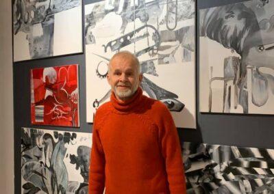 Emil Hansen. Udstilling hos Artlightcph